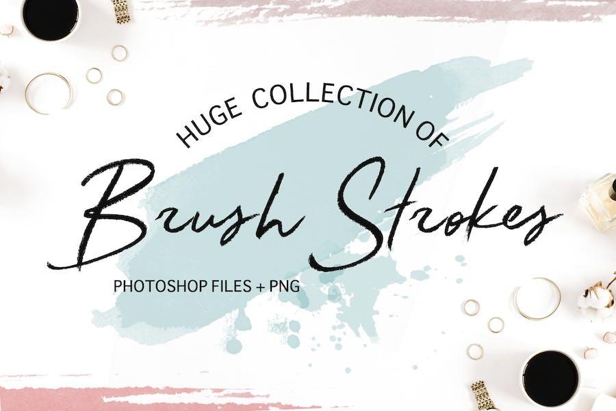 Акварельные-Brushes-Collection