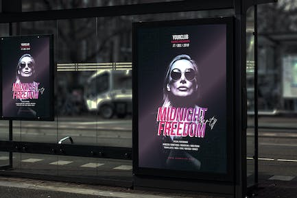 Midnight Freedom Party - Poster YR