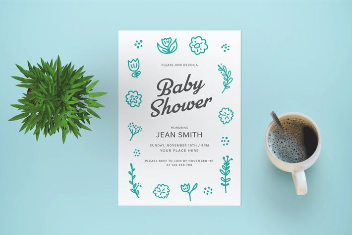 Thumbnail for Baby Shower Flyer