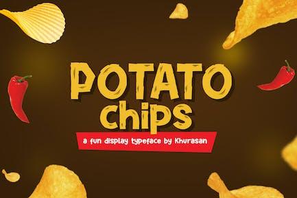 Potato Chips Font