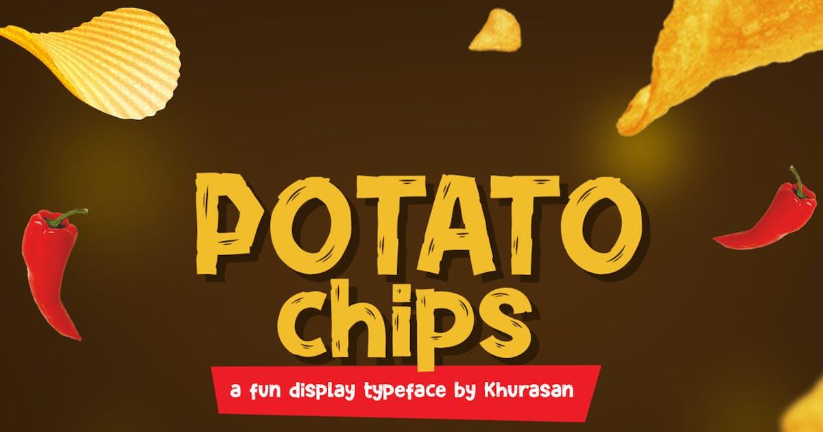 Download Potato Chips Font by khurasan