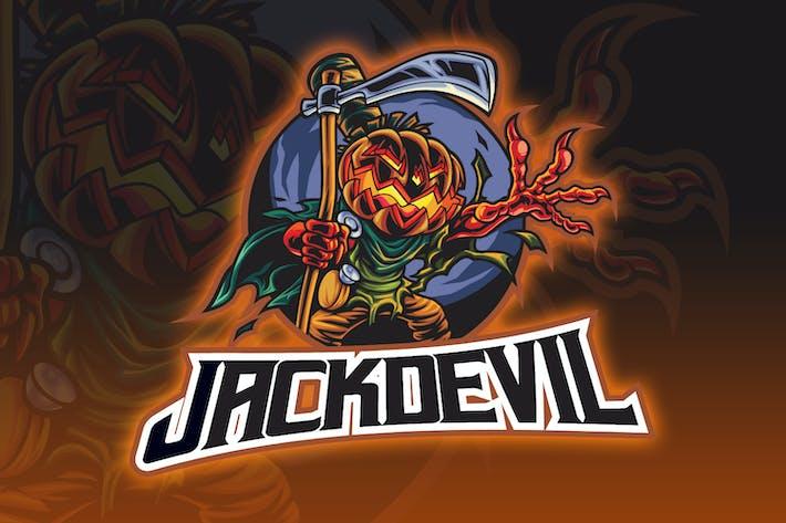 Thumbnail for Jack Pumpkin Demon Esport Logo