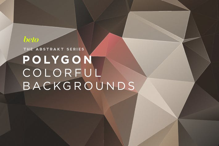 Thumbnail for Polygon Abstract Backgrounds V15