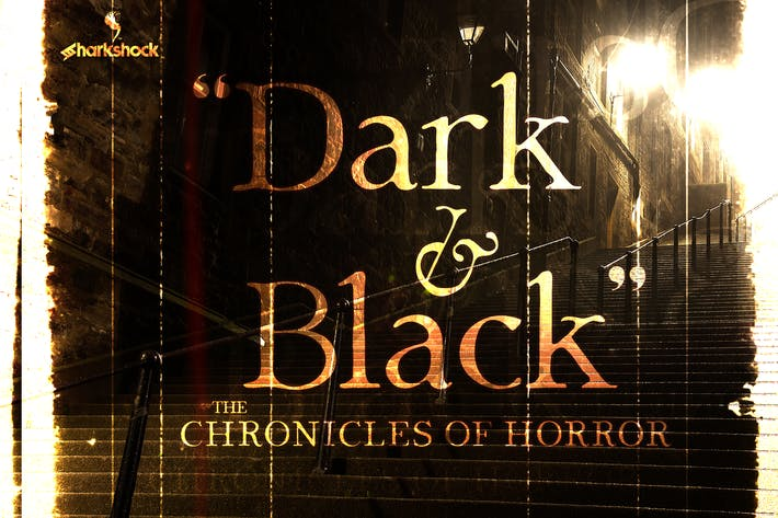 Cover Image For Dark & Black