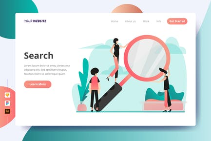 Search - Landing Page