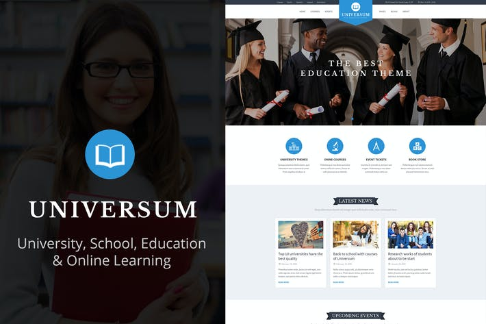 Thumbnail for Universum - Education & Online Learning Template