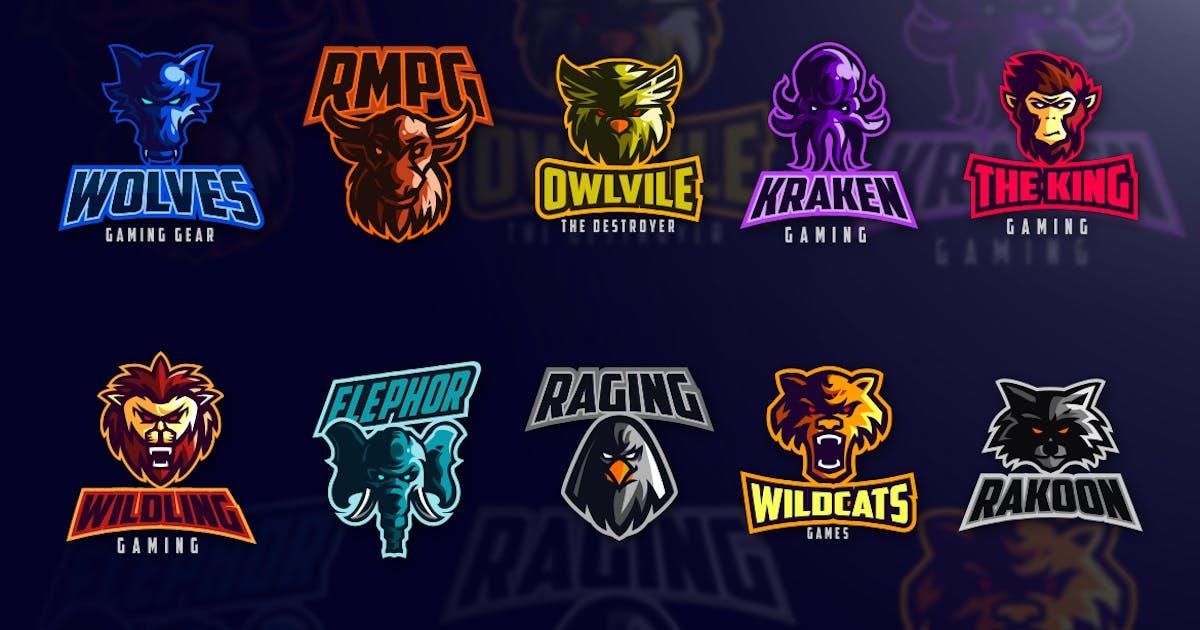 Download Esports Animals Logo Set by Suhandi