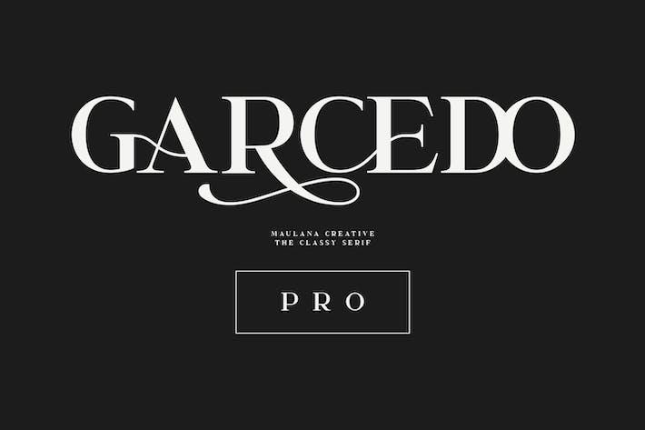 Thumbnail for Garcedo Display Serif Font