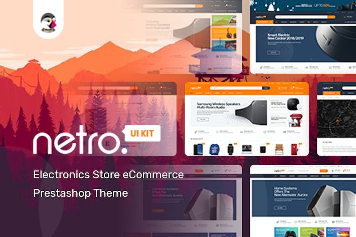 Thumbnail for Razor Responsivo Prestashop 1.7 Tema