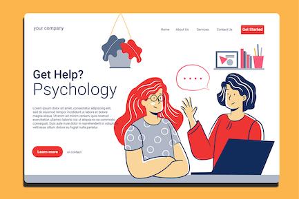 Psychologist - Landing Page
