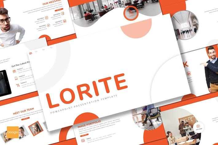 Thumbnail for Lorite - Business Google Slides Template