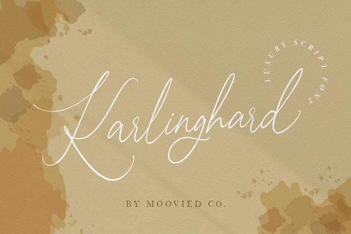 Thumbnail for Karlinghard Font