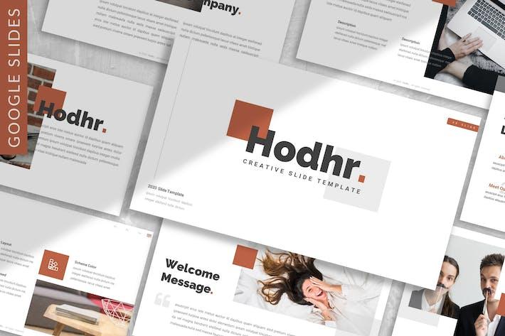 Thumbnail for Hodhr. - Creative Google Slide Template