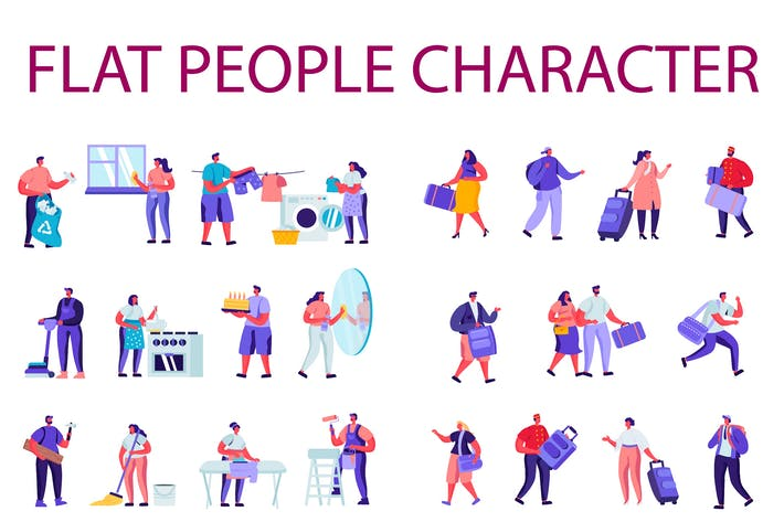Thumbnail for People Character Creator Kit