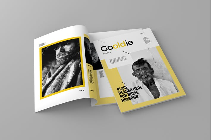 Thumbnail for Gooldie - Magazine Template
