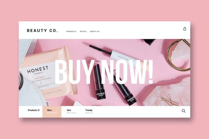 Beauty & Make up - Landing Page