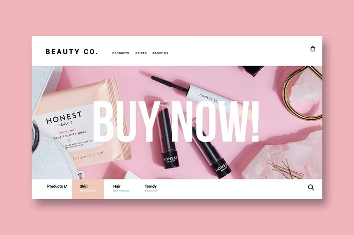 Thumbnail for Schönheit & Make-up - Landing Page