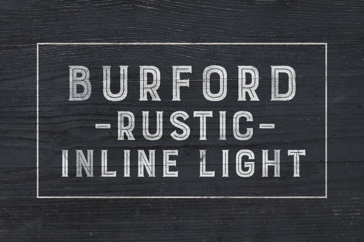Thumbnail for Burford Rustic Inline Light