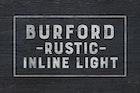 Burford Rustic Inline Light