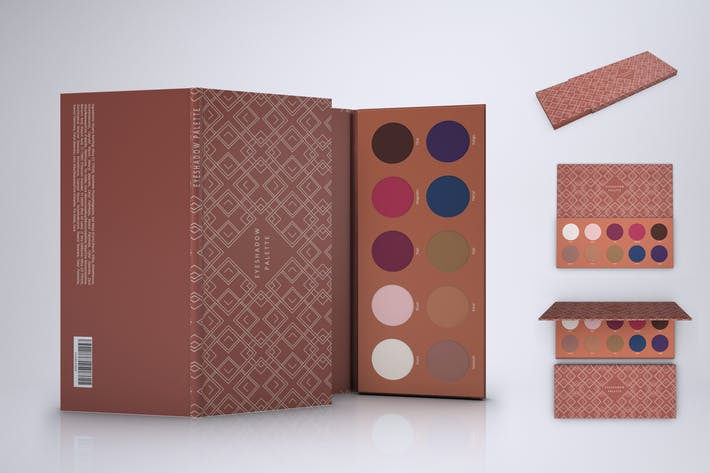 Thumbnail for Eyeshadow Palette Mock-up
