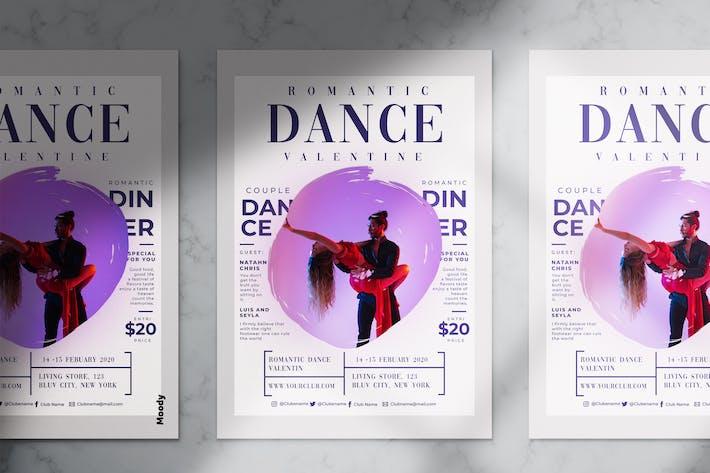 Thumbnail for Romantic Dance Flyer