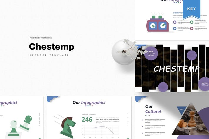 Thumbnail for Chestemp | Keynote Template