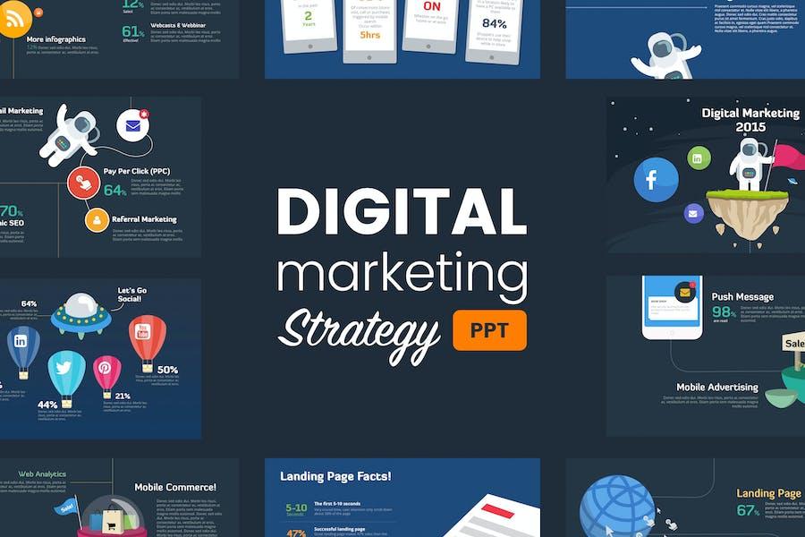 Digital Marketing Strategy - Powerpoint Template
