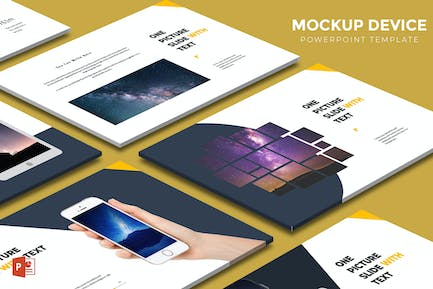 Mockup Device - Powerpoint Template