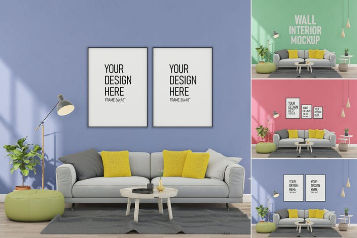 Thumbnail for Wall Interior - Mockup FH
