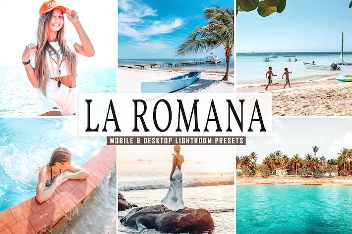 Thumbnail for Пресеты Lightroom для мобильных ПК и настольных ПК La Romana