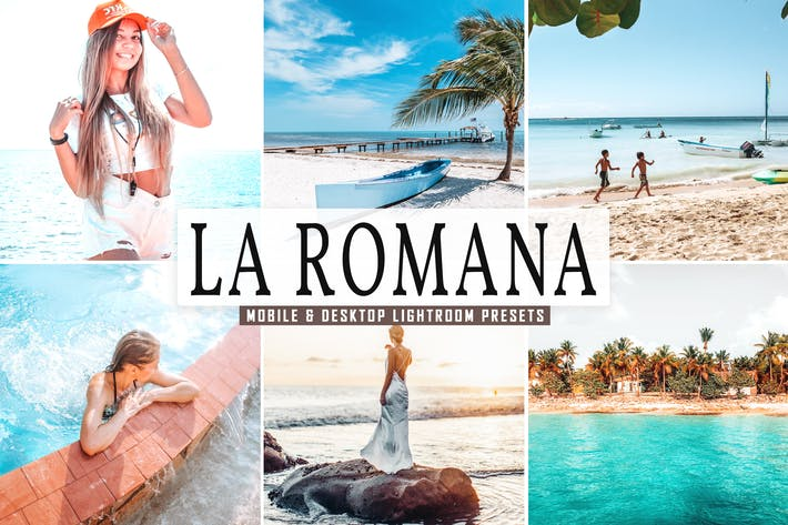 Thumbnail for La Romana Mobile & Desktop Lightroom Presets