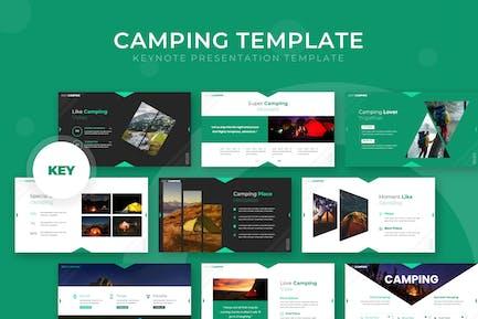 Camping - Keynote Template