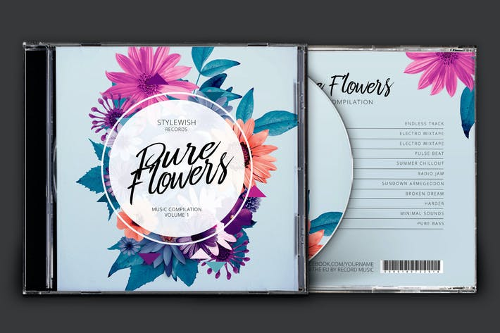 Cover Image For Pure Flowers CD Cover Artwork