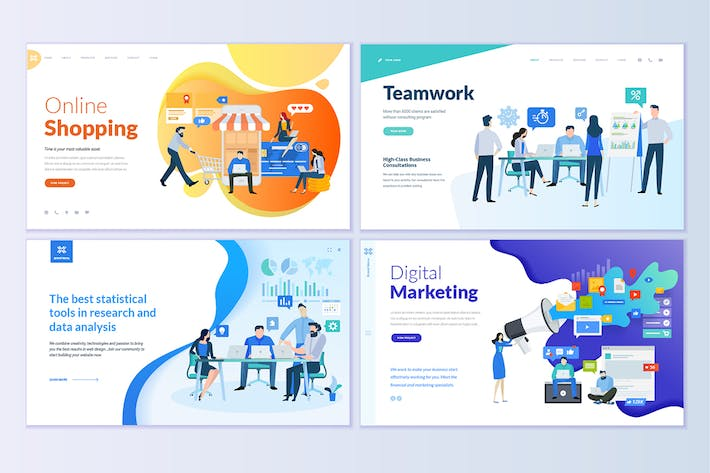 Thumbnail for Web Page Design Templates