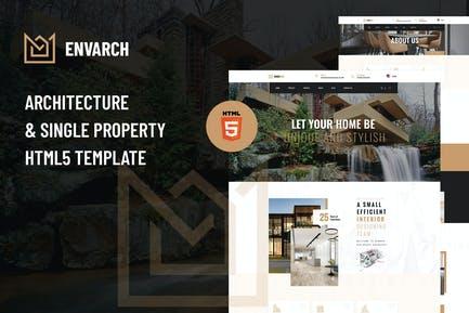 EnvArch - Architecture and Property HTML5 Template