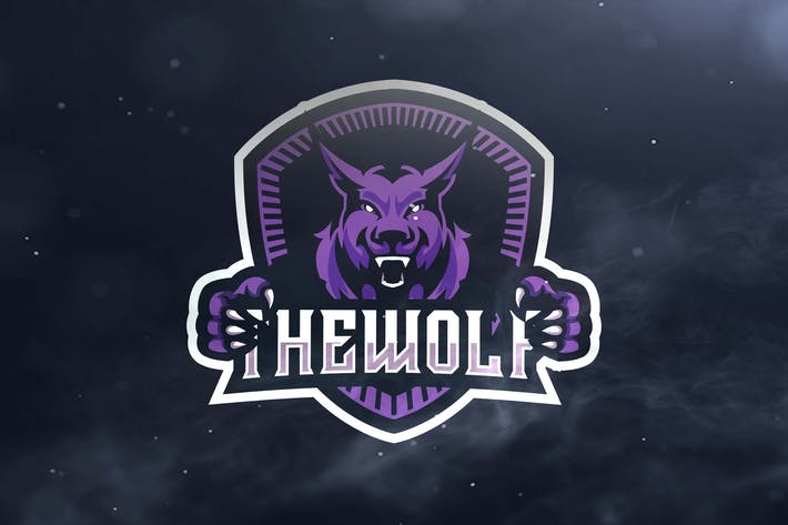 Thumbnail for The Wolf Sport and Esports Logos