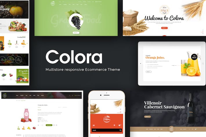 Thumbnail for Colora - Organic Responsive Magento Theme