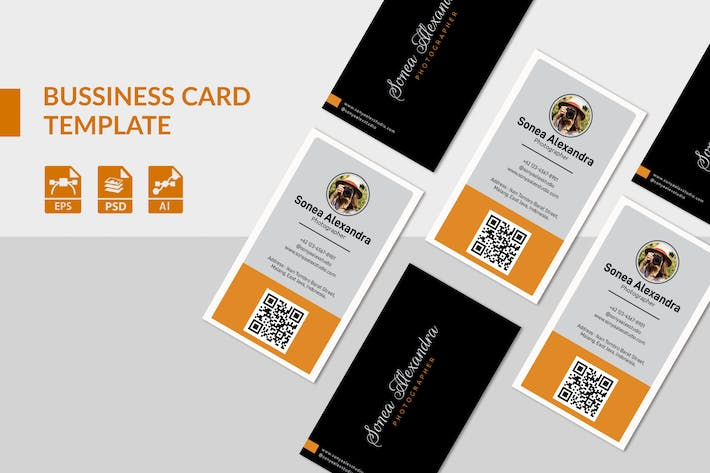 Cover Image For Photography Business Card