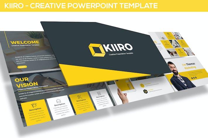 Thumbnail for KIIRO - Powerpoint Template