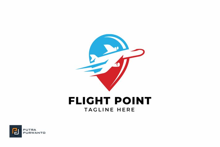 Thumbnail for Flight Point - Logo Template