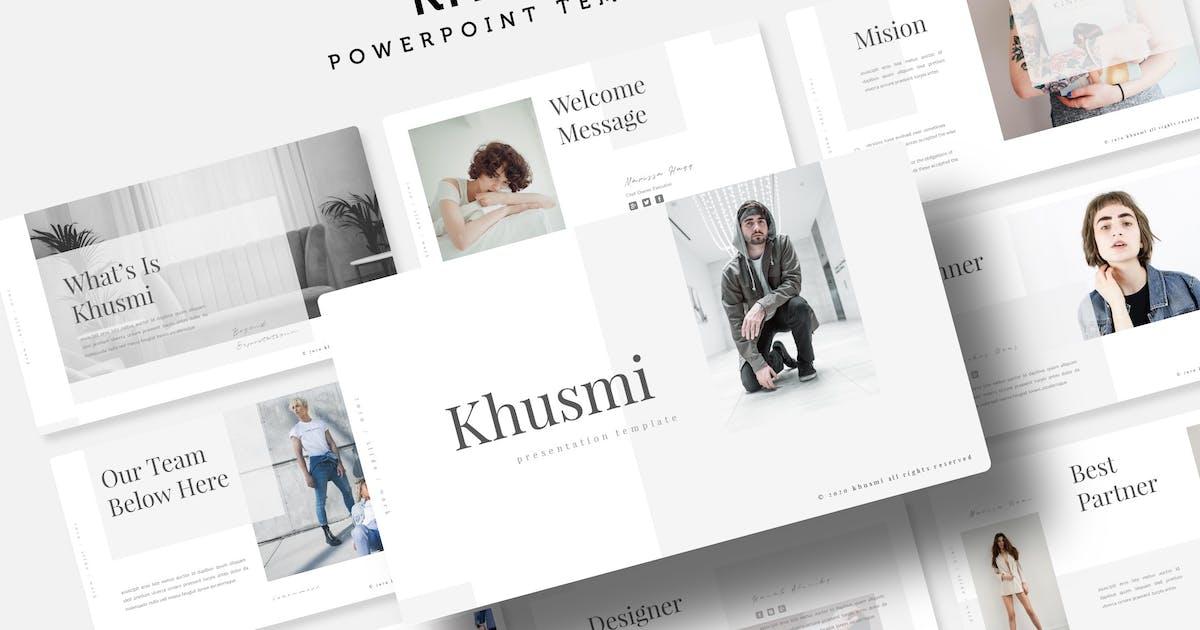 Download Khusmi - Power Point Template by queentype