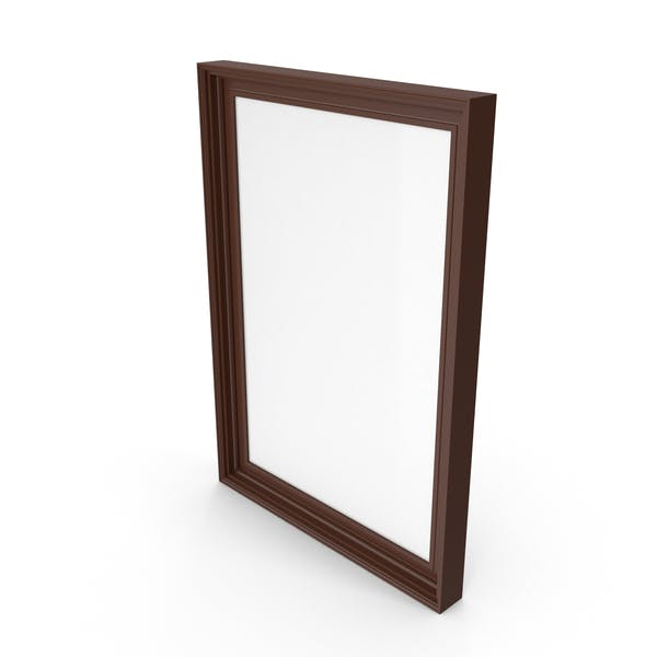 Picture Frame Wide Brown