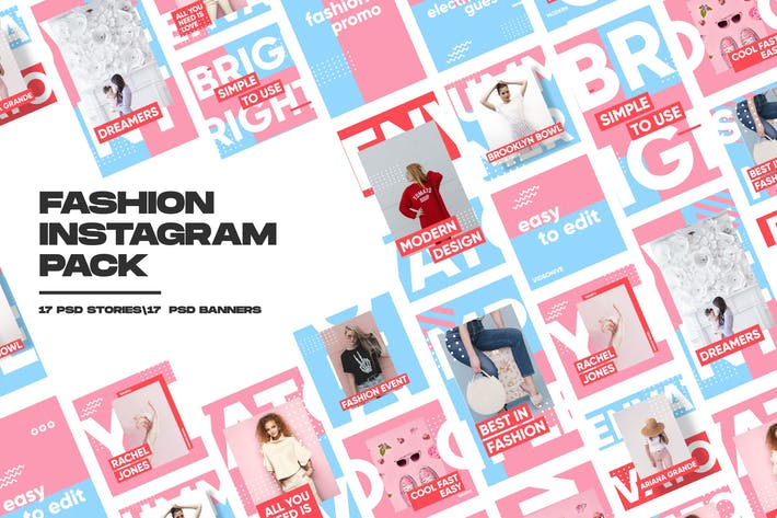 Thumbnail for Fashion Instagram Pack
