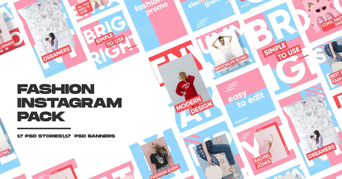 Download Fashion Instagram Pack by MotionMediaGroup