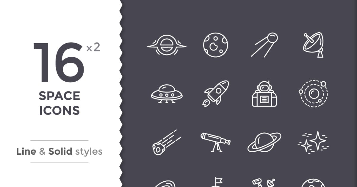 Download Space Icons by filborg
