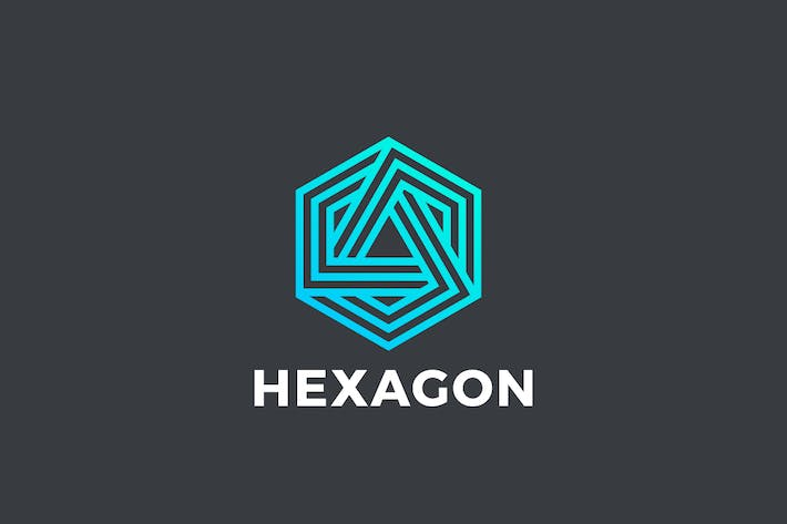 Thumbnail for Logo Hexagon Infinity Loop Linear Technology