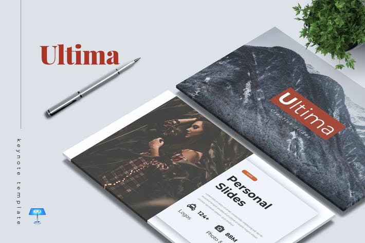 Thumbnail for ULTIMA - Шаблон креативной Keynote
