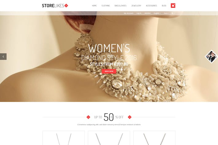 Thumbnail for Storelikes - Fashion RTL Responsive WooCommerce Wo