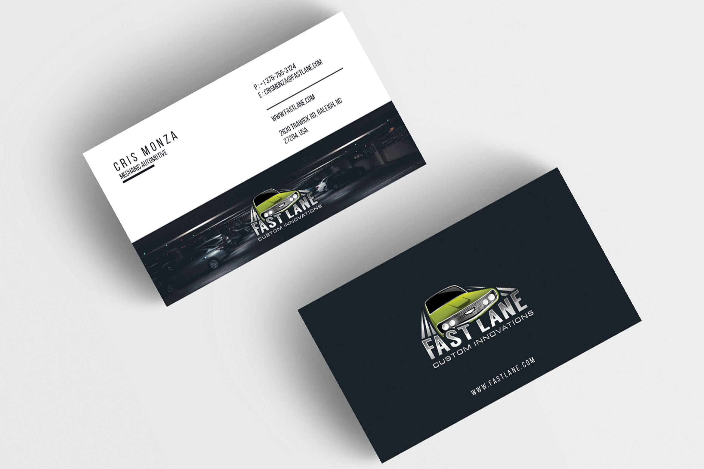 Automotive Business Card by jiwstudio on Envato Elements With Regard To Automotive Business Card Templates