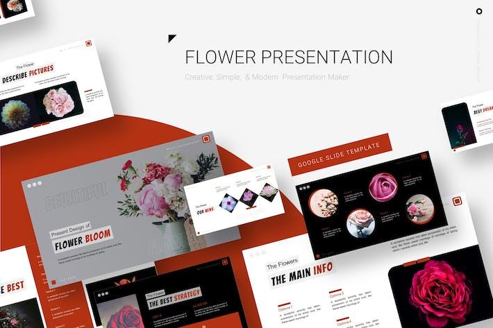 Thumbnail for Flower Bloom - Google Slide Template